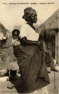 CPA AK Fortier 1187 Afrique Occidentale- Femme Ouolof SENEGAL (812059)