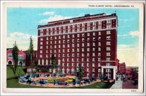 Penn Albert Hotel, Greensburg PA