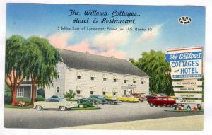 The Willows Cottages, Hotel & Restaurant, Lancaster, Pennsylvania, 40-60s