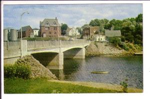 Bridge, Montague River,  Prince Edward Island, Canada,