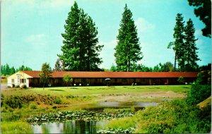 Coeur d'Alene ID King Cole Motel Postcard unused (16703)