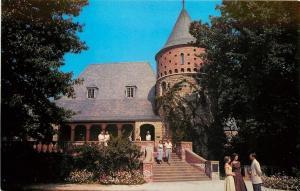 Henderson Kentucky~Audubon State Park~Museum~1950s Postcard
