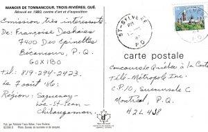 TROIS-RIVIERES , Quebec , Canada , 1950-60s ; Manior de Tonnancour