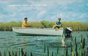 Wisconsin Spooner Greetings From Spooner 1972