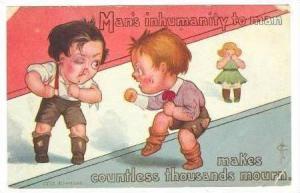 Man´s Inhumanity to man, boys fight, 00-10s