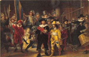 Stengel Publisher of Art Post Card Rembrandt Harmensz Van Ryn Amsterdam Unused