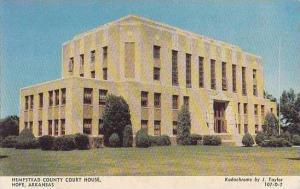 Arkansas Hope Hempstead County Court House