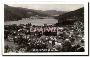 Old Postcard Gerardmer and Lac