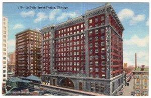 Chicago, La Salle Street Station