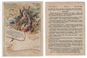 Reward of Merit, Little Pilgrim Lesson Pictures, 1900