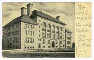 High School, York, Pennsylvania,  PU-1906