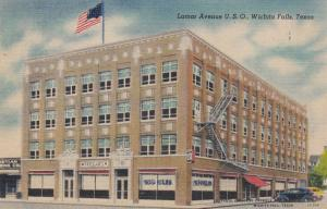 WICHITA FALLS , Texas , 30-40s; Lamar Avenue U.S.O.