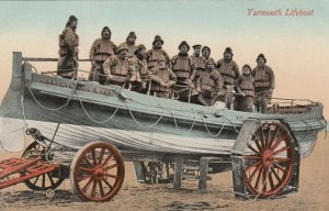 YARMOUTH Lifeboat and Crew, England, 1900-10s
