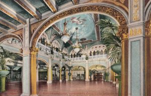 SPOKANE, Washington , 1900-10s ; Hall of the Doges, Davenport's Restaurant