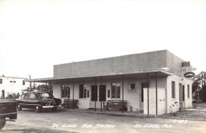 St Cloud Florida Greyhound Bus Station Real Photo Vintage Postcard AA22064