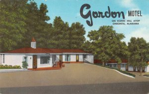 Onenta Alabama Gordon Motel Vintage Postcard AA10293