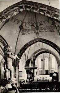 CPA APPINGEDAM Interieur Ned. Herv. Kerk NETHERLANDS (705933)