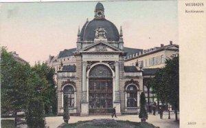 Germany Wiesbaden Kochbrunnen