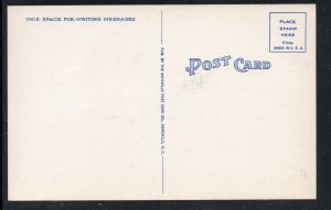 North Carolina colour PC Waterside Theatre & Fort Raleigh Roanoke Island unused