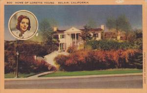 California Belair Home Of Loretta Young