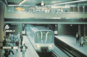 MONTREAL , Quebec , Canada , 1984 ; Subway #2