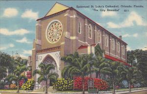 Episcopal St Luke's Cathedral Orlando Florida 1958