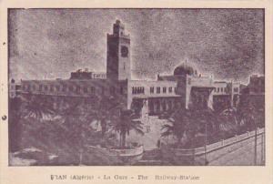 Algeria Oran La Gare The Railway Station