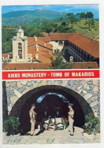 Cyprus, 60-70s  2-views, Kikko Monastery - Tomb of Makarios