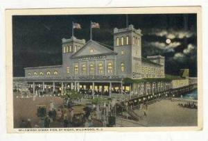 Wildwood Ocean Pier, Night, Wildwood, New Jersey, 1919