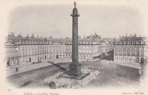 PARIS, France,1910-1920s, La Place Vendome