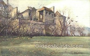 Artist Engelmuller, F. Praha, Prague, Czech Republic, 1909 light wear, postal...