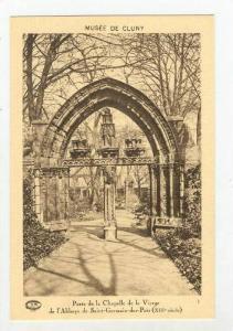 Musee De Cluny, Porte De La Chapelle De La Vierge De l'Abbaye De Saint-Germai...