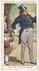 Cigarette Card Player's Dandies No 28 Old Mr Turveydrop