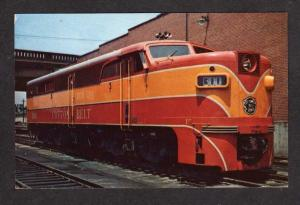 MO St Louis Southwestern Railroad Train MISSOURI RR Postcard Collton Belt 300
