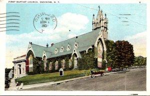 New York Ossining First Baptist Church 1936