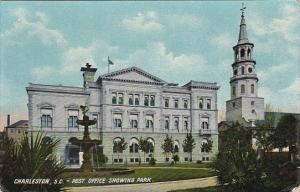 South Carolina Post Office Showing Park