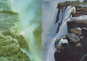 The Victoria Falls Hotel Eastern End Rhodesia 2x Postcard
