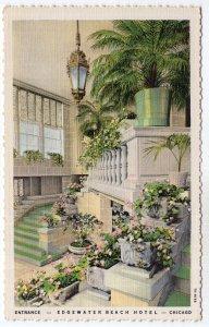 Chicago, Entrance, Edgewater Beach Hotel
