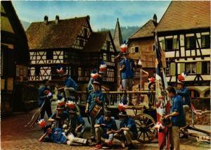 CPM L'Alsace Pitt. Les conscrits a Kaysersberg FOLKLORE (753991)