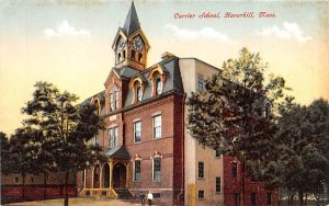 Currier School Haverhill, Massachusetts Postcard