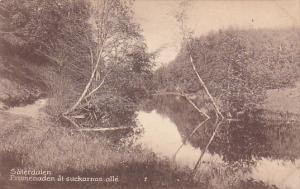 3 postcards : SATERDALEN , Sweden , 00-10s
