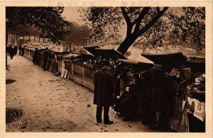 CPA PARIS métiers. Bouquiniste du Quai Malaquais (700930)
