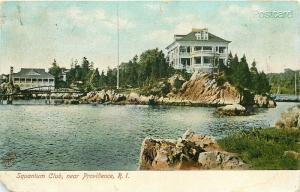 RI, Providence, Rhode Island, Squantum Club, Metropolitan News No. 8921
