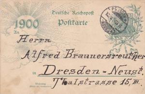 Germany Deutsche Reichspost Postkarte