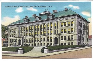 Manchester, NH - Central Classical High School Building