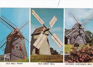 Massachusetts Cape Cod Old Mill Point Old Grist Mill & Eastham's Mill