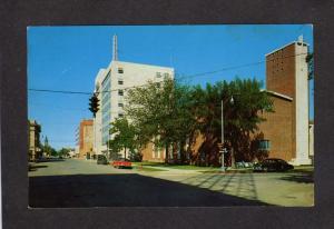 MT Third Ave Congregational Church Billings Montana Postcard Carte Postale