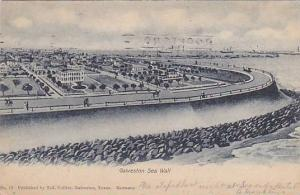 General view of Sea Wall, Galveston, Texas, 00-10s