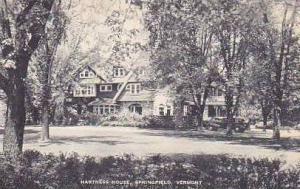 Vermont Springfield Hartness House Artvue