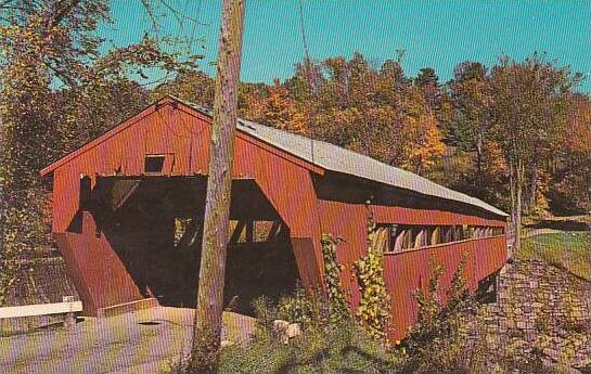 Covered Bridge Taftsville Covered Bridge Vermont